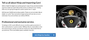 More information about buying cars with Ninja